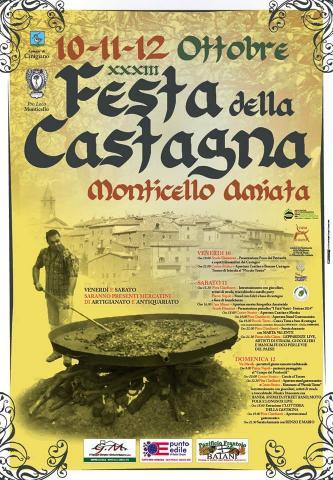 Il Manifesto della Festa della castagna 2014