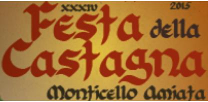 Frammento del Manifesto della Festa della castagna