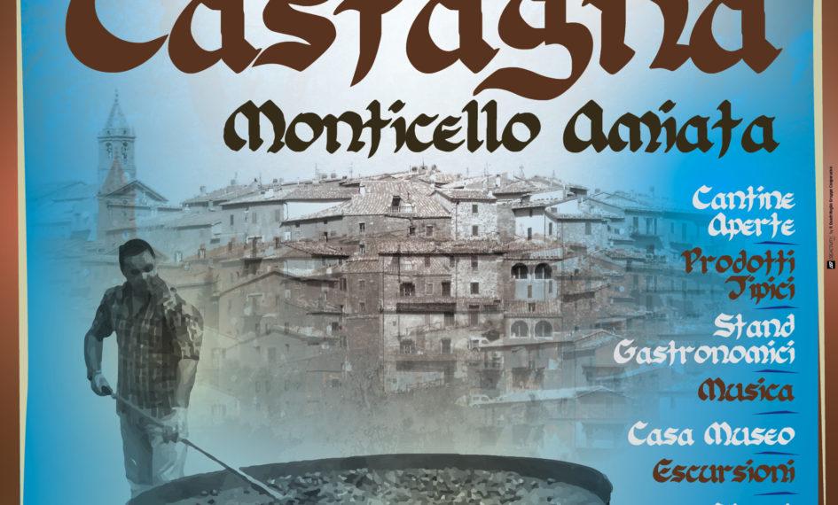 Il Manifesto della Festa della Castagna 2016 di Monticello Amiata
