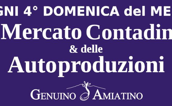 Manifesto Mercato contadino Genuino Amiatino